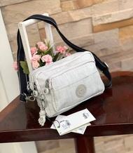 กระเป๋า กระเป๋าคาดอก กระเป๋าคาดเอว กระเป๋าสะพายข้าง 3 in 1 กิปลิ้ง Kipling รุ่น Halima convertible waist pack crossbody bag ของแท้ 100%