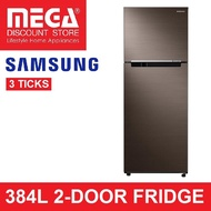 SAMSUNG RT38K503ADX 384L 2-DOOR FRIDGE (3 TICKS)