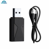 OM 2 in 1 USB Wireless Audio Bluetooth5.0 Transmitter Receiver TV PC Car 3.5mm Aux Audio Adapter
