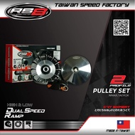 RS8 PULLEY SET V4.2 NMAX/AEROX w/ 0.5 and 1mm washer