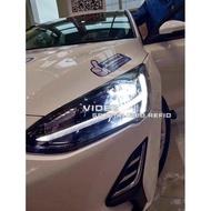小七的車庫 福特 2019 FOCUS MK4 低階 鹵素版/時尚版 升級 高階 全LED 光導 魚眼大燈 台北汽車精品
