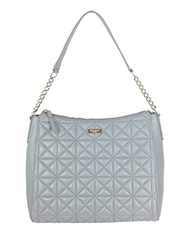 (kate spade new york) Kate Spade Whitaker Place Aurelia Quilted Leather Hobo Bag, Big Smoke Grey-...