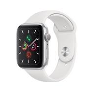 Apple Watch Series 5 GPS (44mm Silver Aluminum Case White Sport Band) สายรัดข้อมืออัจฉริยะ Smart Wristbands  Smart Electronics  Consumer Electronics