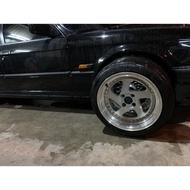 自售E30鋁圈規格4*100⋯⋯16寸胎南港205/45-16