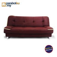 2 IN 1 SOFA BED / 2 IN 1 FOLDABLE SOFA BED / 3 SEATER SOFA BED / FOLDABLE SOFA BED / SOFA LIPAT MURAH / MALAYSIA MADE SO