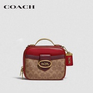 COACH Riley Lunchbox Bag In Colorblock Signature Canvas CO1320  B4QUP กระเป๋าสะพายข้าง