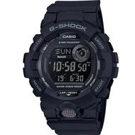 G-SHOCK 百搭玩色風格運動計步藍芽錶(GBD-800-1B)極黑/54.1mm