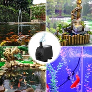 Senzeal 2.5W/4W/15W/25W Submersible Pump Fish Tank Aquarium Pond Fountain Water Pump