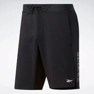 REEBOK EPIC LIGHTWEIGHT SHORTS 男裝 短褲 慢跑 訓練 乾爽 黑【運動世界】FJ4602