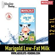 MARIGOLD UHT Low Fat Milk (Tetra) 1L X 12