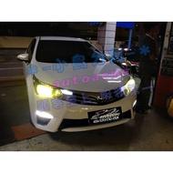 (小鳥的店)豐田 2016-18 ALTIS 雷Right LED燈泡 大燈 霧燈 H11 MIT台製 進階版