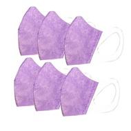HAOFA - HAOFA x MASK - 3D 無痛感立體口罩-兒童- 薰衣草紫*6-50入/盒*6