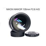 【廖琪琪昭和相機舖】NIKON NIKKOR 135mm F2.8 AIS 老鏡 保固一個月