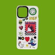 iphone蘋果防摔手機殼No thanks拼貼畫 iPhone X 11 12 pro max