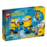 75551【LEGO 樂高積木】Minions 小小兵系列 - built Minions Figures and their Lair (928pcs)