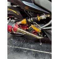 【小港二輪】MAX 中置避震 雷霆 S 125 RACING S 後避震器 禾家興業.雷霆S 150.單槍避震