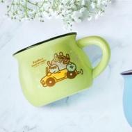 ✨出清特價✨黑人牙膏 卡娜赫拉 法瑯造型陶瓷杯