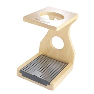 BolehDeals Wood Coffee Dripper Stand for Pour Over Coffee Filters Coffee Filter Holder
