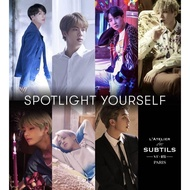 BTS perfume VT x BTS Latelier Collection Exhibition (Autographed photo card for all members of BTS)