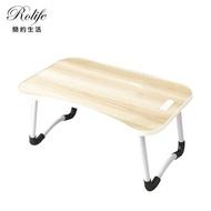【RoLife】秒收納萬用多功能折疊簡易書桌(60x40 電腦桌/床上桌/筆電NB桌/懶人桌/邊桌/摺疊桌)