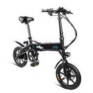 [EU Direct] FIIDO D1 10.4Ah 36V 250W 14 Inches Folding Moped Bicycle 25km/h Max 60KM Mileage Electric Bike