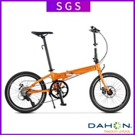 🔥In Stock🔥 Dahon D8 / P8 20 Inch Folding Bicycle Variable Speed Super Light Aluminum Alloy Disc Brake Adult Kba083