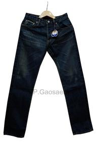 กางเกงยีนส์ ขากระบอกริมแดง Justin(จัสติน) สีสนิม ของแท้ 100 % ‼️ ผ้าหนา ใส่ทน