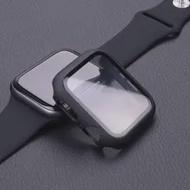 สำหรับApple Watchกรณี44มม.40มม.38มม.42มม.Iwatch CaseกันชนกระจกนิรภัยApple Watchชุด6 Se 5 4 3