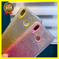เคสกากเพชร 3in1 รุ่น Huawei Y7pro2018 Y7pro2019 Y92018 Y92019 Nova3i Nova5T Y6s กากเพชรทูโทน เคสกันกระแทก เคสหัวเหว่ย มือถือ โทรศัพท์ case เคส ซอง หูฟัง แบตสำรอง Powerbank กล้อง กันกระแทก ป้องกัน แฟชั่น