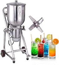 Kolice Commercial Stainless Steel Ice Blender 30L,Commercial Ice Crusher,ice Blender for Making Fruit Smoothies