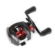 2021 New AK200 7.2:1 High Speed Fishing Reel Left Right Hand Baitcasting Reel Brake System 8kg Drag Wheel
