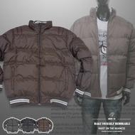 立領厚舖棉保暖外套、夾克外套、騎士外套、防寒外套、擋風外套、休閒外套、鋪棉外套、黑色外套(321-8327-01)咖啡色、(321-8327-02)綠色、(321-8327-03)黑色 L XL 2L(胸圍:48~52英吋) [實體店面保障] sun-e