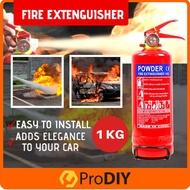 Fire Extinguisher Fire Fighter Portable Multipurpose Fire Extinguisher Ingusher ABC Powder Small Medium 1kg 2kg