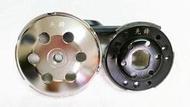 DIO先鋒直線加速專用 精裝 切傳動蓋 必備電鍍離合器碗公組