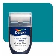 Dulux Colour Play Tester Cosmic Blue 30BG 21/301