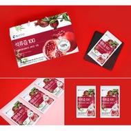 韓國連線 韓國美食 BOTO 100% 紅石榴汁 100入裝 免運