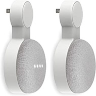 Outlet Wall Mount Holder for Google Home Mini and Google Nest Mini, Perfect Space-Saving Cord Management for Google Home Mini Voice Assistant (2 Pack)