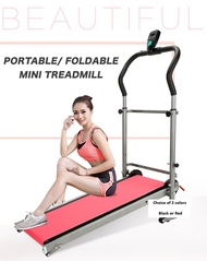 Brand New Premium Mini Foldable Manual Treadmill Pro. Adjustable. Local SG Stock and warranty