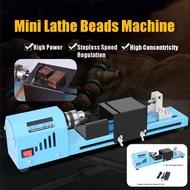 Mini 150W Lathe Machine Tool DIY Woodworking Wood lathe Milling machine Grinding Polishing Beads Drill Rotary Tool
