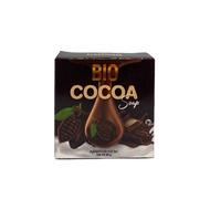 Bio Cocoa Soap สบู่ไบโอ โกโก้ สบู่ผิวหน้า 40 g. (1 ก้อน)
