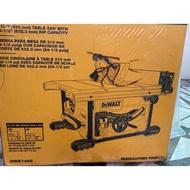可刷卡 新款Dewalt 7485 (台灣製)一週內商品若瑕疵保證退貨換貨,  經典桌鋸