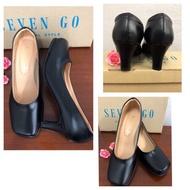 รองเท้าคัชชู seven-go สีดำ ราคาถูกที่สุด มีเก็บเงินปลายทาง