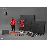 ENTERBAY1/6 NBA雙人組公牛隊 Michael Jordan客場限量版