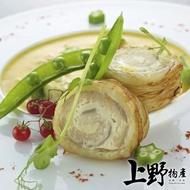 【上野物產】台灣近海無刺清肉白帶魚捲 x3包(500g±10%/包)