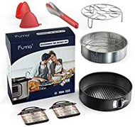Funria Instant Pot Accessories Set, 8 Pieces Multitasking Accessories Kit Compatible with Instant Pot 5, 6, 8Qt and Other Pressure Cookers
