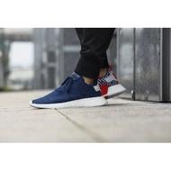 正版愛迪達 Adidas NMD R2 海軍藍 男鞋 歐美限定 白色 紅色 條紋 BB2952 藍色
