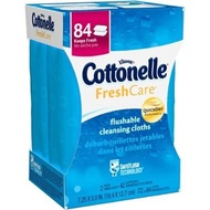 [USA]_Cottonelle FreshCare Flushable Cleansing Cloths, 84 sheets