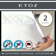 [ETOZ] Fitted Mattress Protector★Microfiber Tread★Waterproof