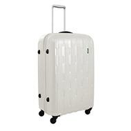 Lojel Arrowhead Polycarbonate Medium Upright Spinner Luggage, Off White, One Size