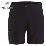 【ARCTERYX 始祖鳥 加拿大】Alroy 休閒短褲 快乾短褲 女款 黑色 (L07520200)